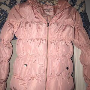 Girls Aeropostale pink Bubble jacket